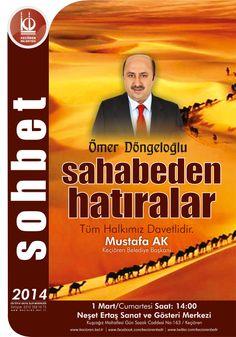 Etkinliklerimize tüm hemşehrilerimiz davetlidir. Keçiören Belediye Başkanı Mustafa Ak