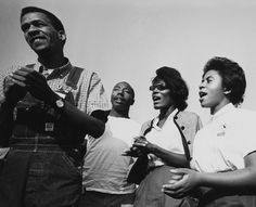 "Civil Rights workers singing ""Freedom On My Mind"" 1964 Freedom Summer"