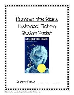 number the stars book report project