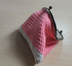 Tutorial : monedero con boquilla / How to do : crochet purse with frame