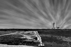 Lighthouse B & W by Paulo Mendonça, via 500px.