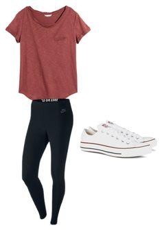 """""""Untitled #11"""" by monty-nalani on Polyvore featuring H&M, NIKE and Converse"""