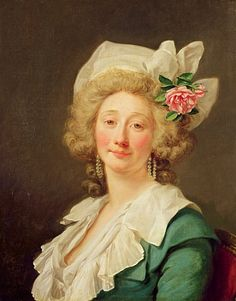 Jean-Francois Colson, Portrait of a Lady Very unusual, she looks so real, like someone you've met.