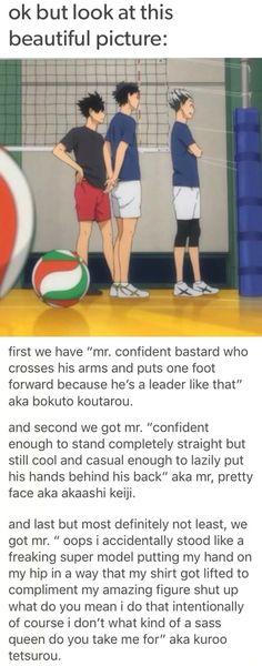 """Kuroo """"totally not a model"""" Tetsuro"""