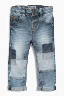 51 New Ideas for patchwork jeans kids boys Toddler Fashion, Kids Fashion, Patched Jeans, Men's Jeans, Denim Pants, Baby Jeans, Patchwork Jeans, Denim Ideas, Boys Pants