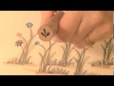 Flowers on Stems (+playlist) - To see more ideas and order Stamps by Judith & Heather go to www.stampsbyjudith.com