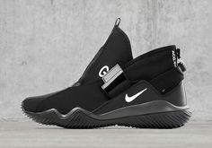 63f342a8ac2 NIKELAB ACG 07 KMTR Black Sneakers Nike