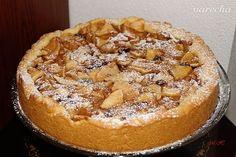 Šťavnatý jablkový koláč z křehkého těsta (fotorecept) - recept | Varecha.sk