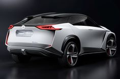 The concept of electric crossover Nissan IMx presented at Tokyo Motor Show in the autumn of last year, turned out so futuristic that very few people took it seriously as a prototype of the production. Nissan, Jdm Tuning, Electric Crossover, Car 15, Tokyo Motor Show, Car And Driver, Transportation Design, Electric Cars, Sport Cars