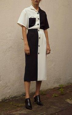 Half Moon Shirt and Skirt by Kimhekim