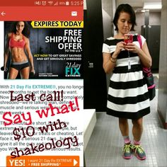 I amuse myself how I save time at lunch!  #callcenterprobs...I change my shoes at my desk    I do have to remind you so you are not mad I didn't....Last day you can get the 21dayfix free shipping $10 with #shakeology!    No calorie counting✔ Portion control program✔ 30 minute workouts✔  1 awesome meal replacement✔ Money back guarantee✔  Why not you?  Email me: mystysa@gmail.com or drop yours below   #veganmom #loseweight #weightloss  #accountability #joinme #eatclean #journey #beforeandafter…