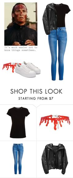 """Nick Clark - ftwd / fear the walking dead"" by shadyannon ❤ liked on Polyvore featuring Vince, Boohoo, Barbour International and Elite"