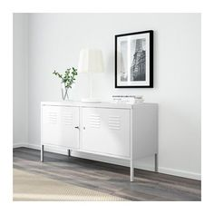 A great hide-away storage solution for when you have kids around. Provides added security for sensitive documents with the included benefit of keys. IKEA PS Cabinet - white - IKEA