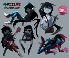Adventure Time Marceline, Adventure Time Anime, Cartoon Games, Cartoon Shows, Character Art, Character Design, Marceline And Princess Bubblegum, Vampire Queen, Jake The Dogs