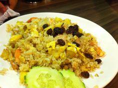 Pineapple fried rice #food #thai