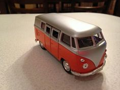 Vw bus vintage toy