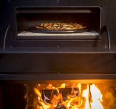 Freestanding WD50 with pizza oven
