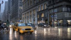 The city is set to get slammed with heavy rain and high wind gusts—here's what you need to know.