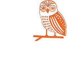 Owly The Owl Rubber Stamp