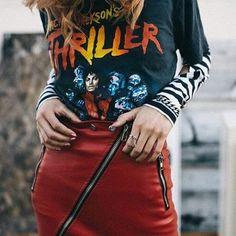 "25 Likes, 3 Comments - Sílvia Parra Sánchez (@silvia_90diamonds) on Instagram: ""Michael Jackson's Thriller shirt by Urban Outfitters.  #urbanoutfitters #urbanfashion #uorewards…"""