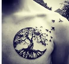 Afbeeldingsresultaat voor tree tattoo