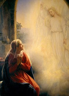 Carl Heinrich Bloch - The Annunciation                                                                                                                                                                                 More