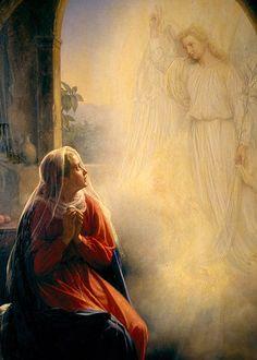 Carl Heinrich Bloch - The Annunciation More