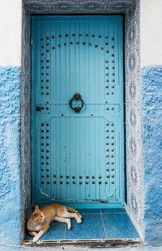 Chefchaouen, Morocco                                                       …
