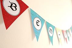 Pirates theme welcome banner. Say your language! Welcome Banner, Pennant Banners, Pirate Theme, Pirates, Language, Decoration, Cards, 3rd Birthday, Decorating