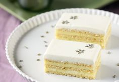 Lemon & Lavender Opera Cake