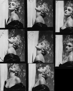 Madonna and Herb Ritts True Blue Proof Sheet