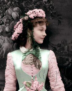 "Vivien Leigh in ""Anna Karenina, "" Costume design by Cecil Beaton Scarlett O'hara, Anna Karenina, Vivien Leigh, Leigh Ann, Hollywood Glamour, Classic Hollywood, Old Hollywood, Divas, Katharine Hepburn"