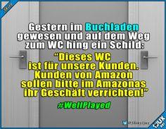 Bleibt den Buchläden treu :) #Bücheliebe #Leseratte #lachen #Humor