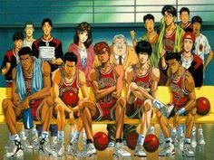 "Slam Dunk ~~ Without this classic, who would ever have had ""Kuroko no Basket"" to enjoy?"