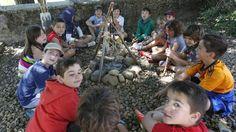 Los niños se cuelan en la prehistoria