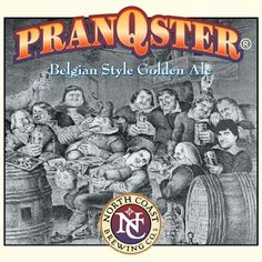 Belgian Ales represent the height of the brewers' art. Sophisticated brewing techniques, yeast blends, and unique flavoring elements have elevated the beers of Belgium to the status enjoyed by wine in other countries. PranQster follows in this tradition using a mixed culture of antique yeast strains that produce a floral nose, a full fruity flavor, and a clean finish.