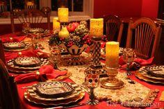MacKenzie-Childs Christmas Tablescape