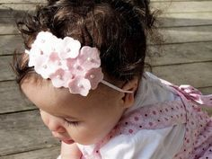 Повязка на голову цветы из фетра своими руками