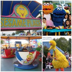 Sesame Place in Langhorne, Pennsylvania / 19 Places That Will Make Your Kid's Dreams Come True (via BuzzFeed)