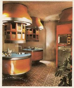 The perfect 1970's kitchen.
