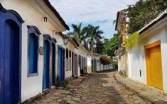 Paraty, Rio De Janeiro, Drop Cloths, Home, Traveling, Pintura