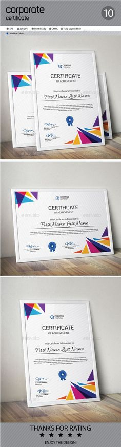 Certificate Template Vector EPS. Download here: http://graphicriver.net/item/certificate/12006895?ref=ksioks: