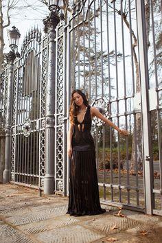 Song of Style  Luisa Via Roma Style Lab  Black Diamond Cavalli Dress 2b24966520b09