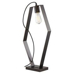Pacific Coast Lighting Hexamination Table Lamp Dark Bronze - 87-7886-20