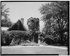 Historic American Buildings Survey Douglas McCleery, Photographer June 1958 EXTERIOR VIEW: NORTH FACADE - Trinity Episcopal Parish House, 1009 Vermont Street, Lawrence, Douglas County, KS