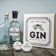 A 'make your own gin' kit is always on my wish list. This is the Artisan Gin Makers Kit from Firebox. All this and more at: Gin Geeks: Gifts for Gin Lovers | Vinspire
