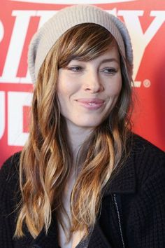 Cortes de cabelo 2015 -  Jessica Biel