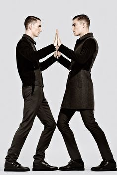 Henry Pedro Wright, OShea Robertson, Harry Pulley + More in Dior Homme F/W 13 for Metal image dior homme metal magazine 0002
