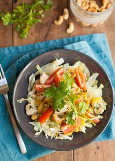 2. Tropische mango-kip salade-3