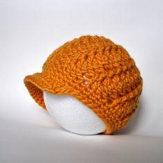 Free Pattern: Crochet Women's Brimmed Cap   Classy Crochet